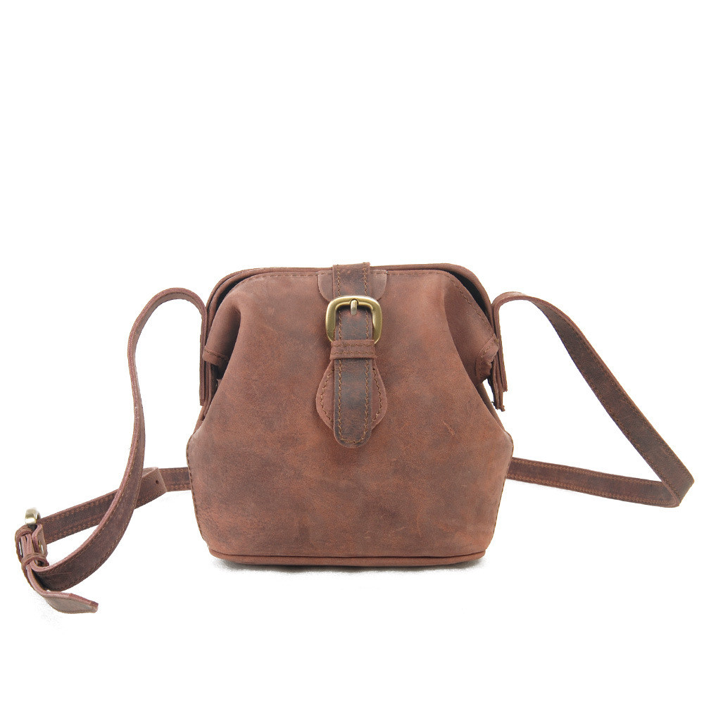 New Retro Women Messenger Bag Crazy Horse Leather Shoulder Bag for Ladies Vintage Crossbody Bags Female Mini Cross Body Bag<br><br>Aliexpress