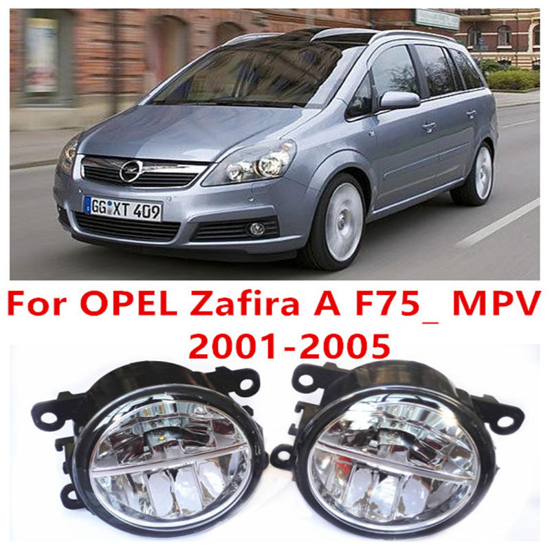 For OPEL Zafira A F75_ MPV  2001-2005 Fog Lamps LED Car Styling 10W Yellow White 2017 new lights<br><br>Aliexpress