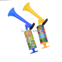 Free shipping 10pcs/lot Small Handheld Portable Super Blast Airhorn Air Horn Pump High Tone Mini noise maker