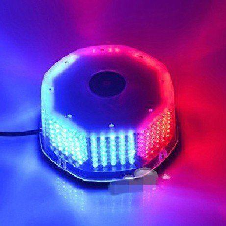 CYAN SOIL BAY 240 LED Truck Car Roof Top Flash Strobe Emergency Hazard Warning Light Red&amp;Blue<br>