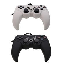 Plastic USB Controller USB Computer Game Pad Controller Compatible For Windows 7/ Windows 9X  for PSII PSIII PS2 PS3 PC