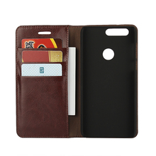 Deluxe Wallet Case For Huawei Honor 8 Genuine Cow Leather Case Huawei Honor 8 Flip Cover Phone Bags