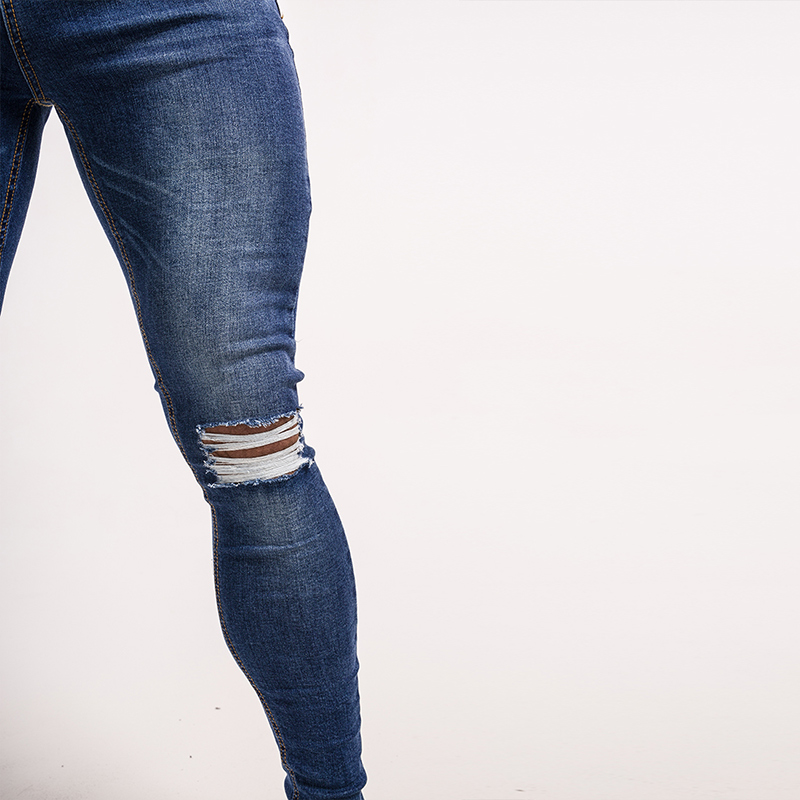 gingtto-mens-skinny-jeans-knee-ripped-repaired-blue-denim-zm05-4