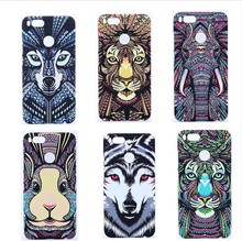 Luminous Animal case for xiaomi mi 5X PC New idea cases cover pattern Cool night lights case for xiaomi m5x MI5X lighter case