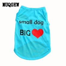 MUQGEW  Small Cheap Dog Clothes Dogs Pets Clothing Summer Animals Cats Clothing Pet Shop Dog Vests Puppy Vest Cat Vest Chihuahua