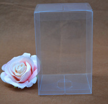 7.5*7.5*1cm Cheap clear plastic pvc box packing boxes for gift//candy/cosmetic/small transparent pvc Box