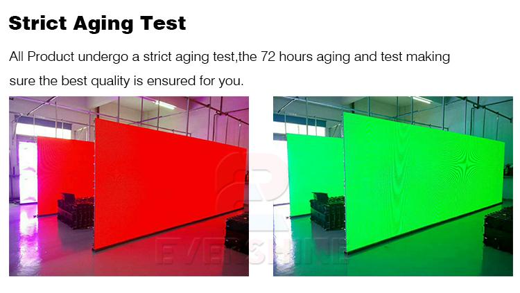 Rental screen aging