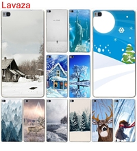 Lavaza Winter in Central Park Animated Winter Hard Case for Huawei P10 P9 P8 Lite P10 P9 Plus P6 P7 G7 & Honor 6 7 8 Lite 4C 4X(China)