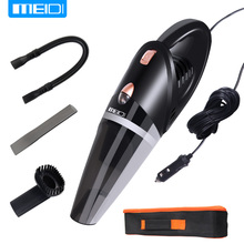MEIDI Car Vacuum 12V 106W Wet&Dry Dual Use Car Vacuum Cleaner Portable Car Handheld Vacuum Cleaner 14.7FT(5M) Power Cord(China)