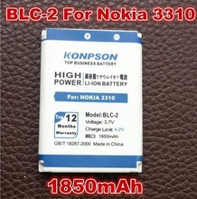 1850mAh BLC2 BLC-2 For Nokia 3310 3330 3410 3510 5510 3530 3335 3686 3685 3589 3315 3350 3510 6650 6800 3550 Free Shipping