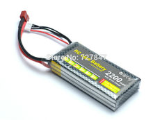 A Quality 11.1V 2200mAh 3S 30C Li-Po Battery for RC Trex 450 HELICOPTER  T Plug / XT60 CONECCTOR
