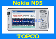 Original Unlocked Nokia N95 cell phone 3G GSM 5MP Camera mobile phone with WIFI GPS Free shipping