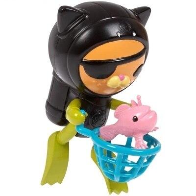 Octonauts swimming Kwazii &amp; Frogship  figures toy birthday gift  bath toy child <br>