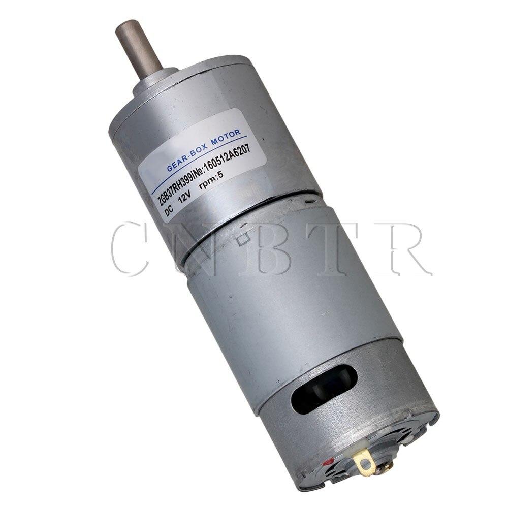 CNBTR High Torque 12V DC 5 RPM Gear-Box Electric Motor Replacement 2500r/min  <br><br>Aliexpress
