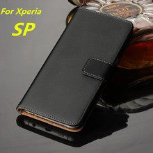 wallet Leather case For Sony xperia SP case Luxury Cover For Sony Xperia SP M35h C5303 card holder shell Retro phone bags GG