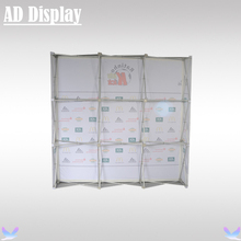 High Quality 8ft Straight Shape Easy Fabric Banner Pop Up Display Frame With Single Side Graphic Printing(Include End Cap)(China)