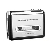 Classic style Portable USB Analog Tape Cassette to MP3 Digital for iPhone pPad PC Converter Capture Stereo Audio Music Player