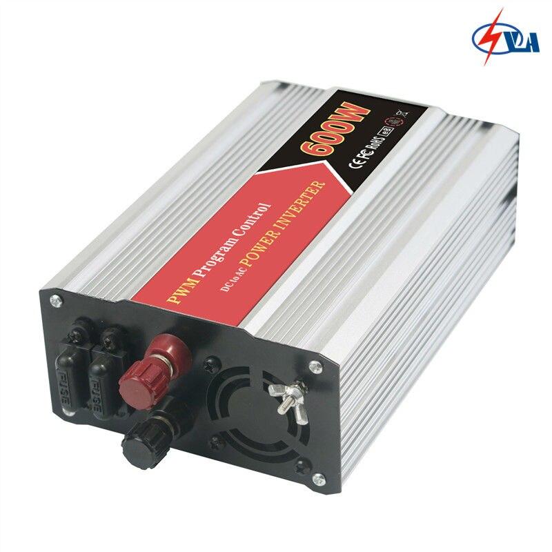 W600-122 DC 12V AC 220V PWM control dc ac power inverter 600W<br>