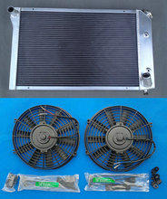 3 Row Aluminum Radiator & FANS for 1977-1982 Chevy Corvette 1978 1979 1980 1981(China)