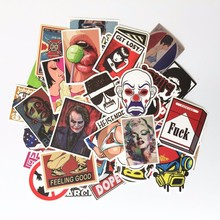 50 pcs Funny Stickers Toy Styling Fashion Designs Cute Sticker For Motorcycle Suitcase Home Decor Phone Funny Toy sticker(China)
