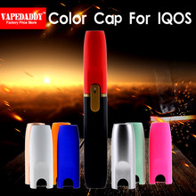 Цвет ful Shine/матовый цвет IQOS cap Gold/Silver/White/Rose Red/Orange IQOS мундштук cap для IQOS 2,4 P IQOS 2,4 PLUS(China)