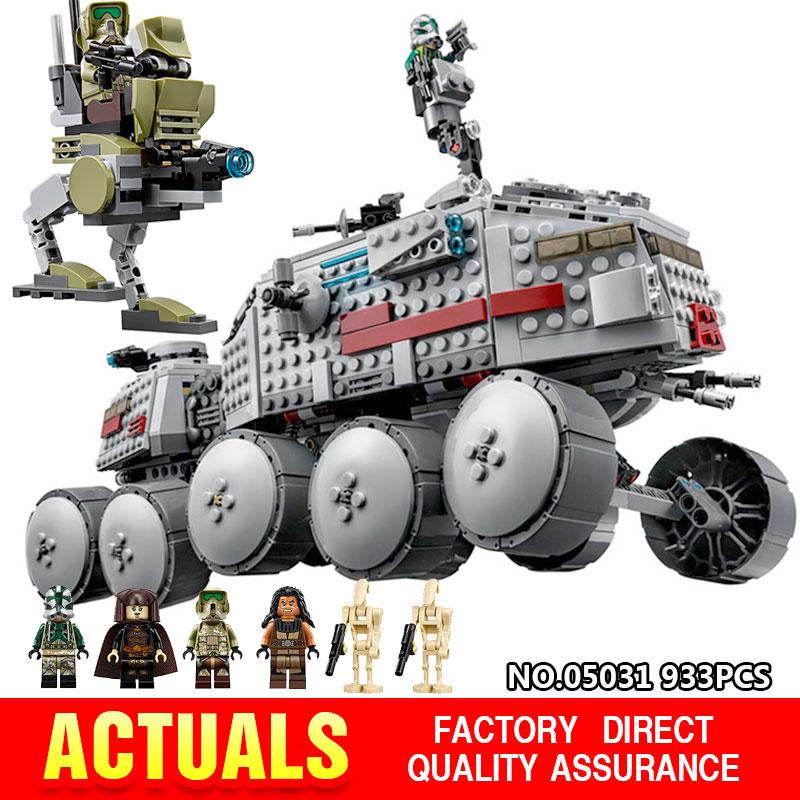 lepin 05031 Star Wars Clone Turbo Tank 75151 Building Blocks Compatible with legoingly 75151 STAR WARS Toy Boys Toys Gift<br>
