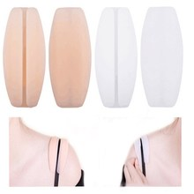 2Pcs/pair New Women Silicone Supple Texture Non-slip Shoulder Pads Bra Straps Cushions Holder Pain Relief High Quality Fashion(China)