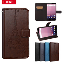 "Retro pattern For coque Vernee Thor E case 5"" Wallet Leather Flip Capa pouch For Vernee Thor E Cover Stand back skin fundas bags"