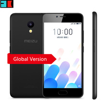 Original Meizu M5C M5 C 2GB RAM 16GB ROM 4G LTE Mobile Phone Global Version OTA Update 5.0 inch screen 3000mAh battery