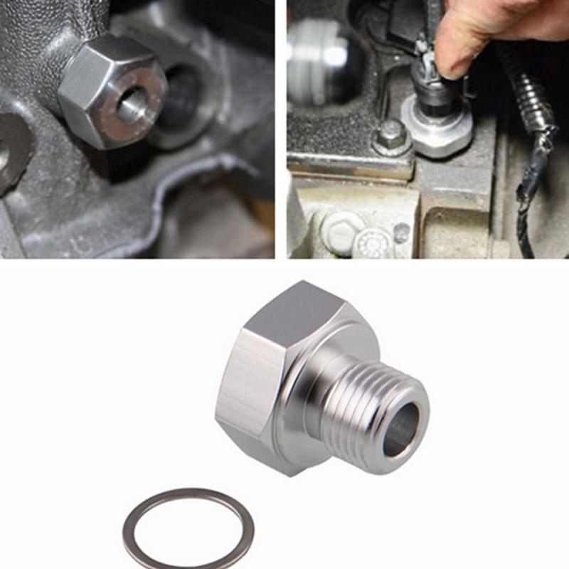 Oil Pressure Sensor Adapter LS Series Engine Swap Male M16 x1.5 Female 1//8 NPT