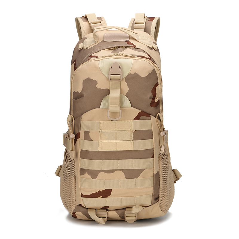 2016 hot sell military tactics camouflage shoulder backpack outside of the U.S. army recreation bag direct foreign trade<br>