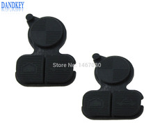 Dandkey 2pcs 3 Buttons Remote Fob Key Buttons Repair Pad For BMW Series 3 5 7 E38 E39 E36 Z3 Z4 Z8 X3 X5