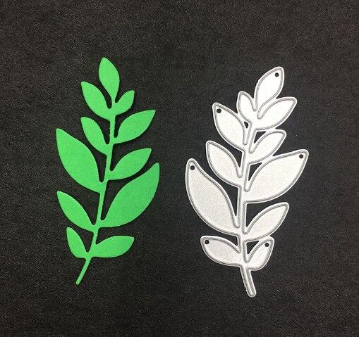 Tree Leaves Metal Steel Embossing Craft Diy Leaf Stencil For Metal Cutting Dies Machine Paper Cardsnew 2018 Scrapbooking Die Cut Electronic Components & Supplies