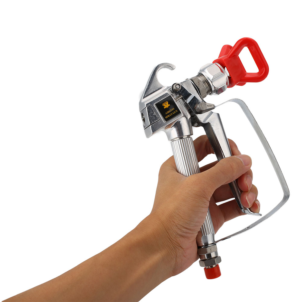 Professional Airless Paint Spray Gun High Pressure No Gas Spraying Kit<br><br>Aliexpress