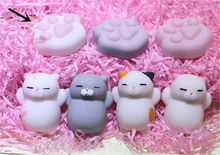 Cute Soft Lovely Cat Squishy Healing Squeeze Fun Kid Toy Gift Stress Reliever Decor