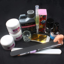 Acrylic Set For Nail Powder Liquid Block Brush Dryer Kit DIY Manicure Set Gel Nail Polish Nails Art Tools 34214