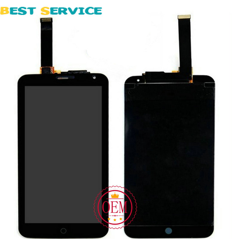 100% New LCD For Meizu MX4 LCD Screen Display with Touch Screen Digitizer Assembly Black White Colors Free Shipping<br><br>Aliexpress