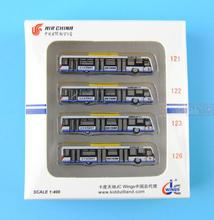 Special offer: JC Wings XX4386 air car ferry bus (a 4 1:400). commercial jetliners plane model hobby(China)