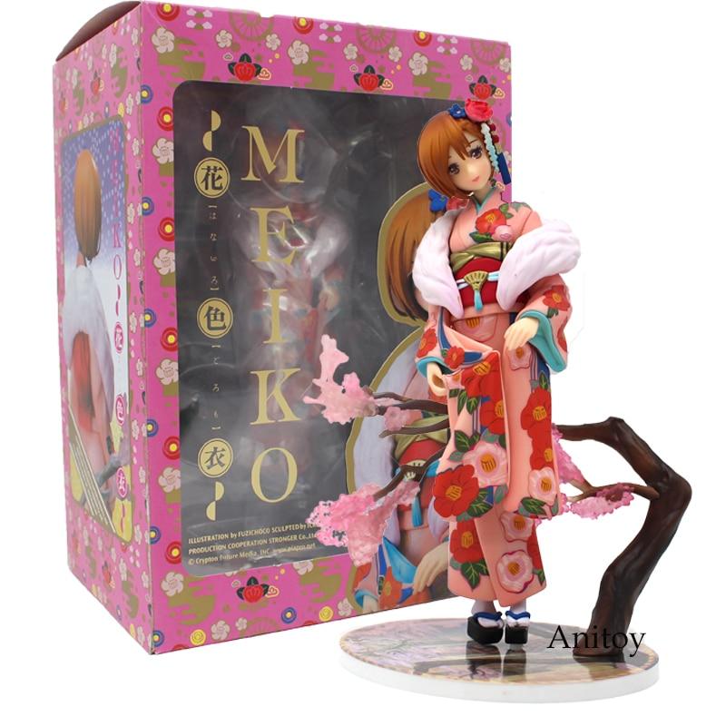 VOCALOID Meiko Kimono Ver. 1/8 Scale PVC Figure Collectible Model Toy 18cm<br>