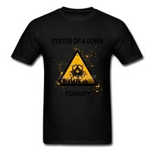 System Of A Down Soad Logo T Shirt Big Size Custom Short Sleeve Men's Clothes New Style Party Cotton Crewneck Men T-shirt