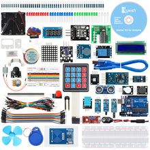 Keywish RFID Complete Sensor Super Starter Kit For Arduino UNO R3 Water-level Servo/Stepper