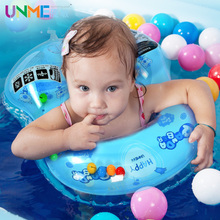 New Best Quality Size M For 1 Years - 3 Years Kids Child Inflatable Armpits Swimming Ring Panda Bear Cartoon Baby Float Ring(China)