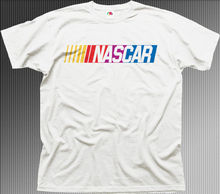 nascar auto Fashion unique classic cotton men round collar short sleeve T-shirt design