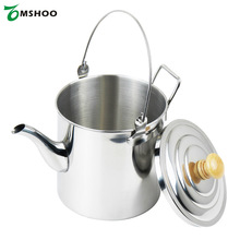 2000ml CS-6 Water Kettle Pot Stainless Steel Kettle Coffee Pot Camping Hiking Outdoor Metal Tea Kettle Camping Equipment(China)