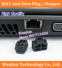 200PCS/LOT  High Quality RJ45 Anti-Dust Stopper/Plug ,RJ45 dust plug for laptop/computer/Router  Free Shipping