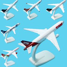 A380 A320 A330 B777 B757Global Aircraft passenger 1:400 Plane Model Alloy materials Kids Toys for children Airbus simulation