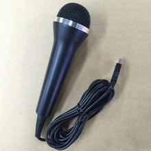 Universal USB Wired Handheld Microphone for PS4 PS3 Xbox One Xbox 360 Wii PC