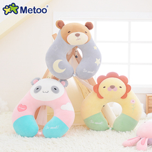Metoo Cartoon Animal U Shape Neck Cushion Pillow Stuffed Toys Plush Toys Office Car Decoration Doll Cute Lovely Gift For Friends