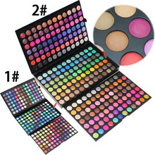252 Color Fashion Eye Shadow Palette Cosmetics Eye Make Up Tool Makeup Eye Shadow Palette Eyeshadow Set for Women 2 Style Color