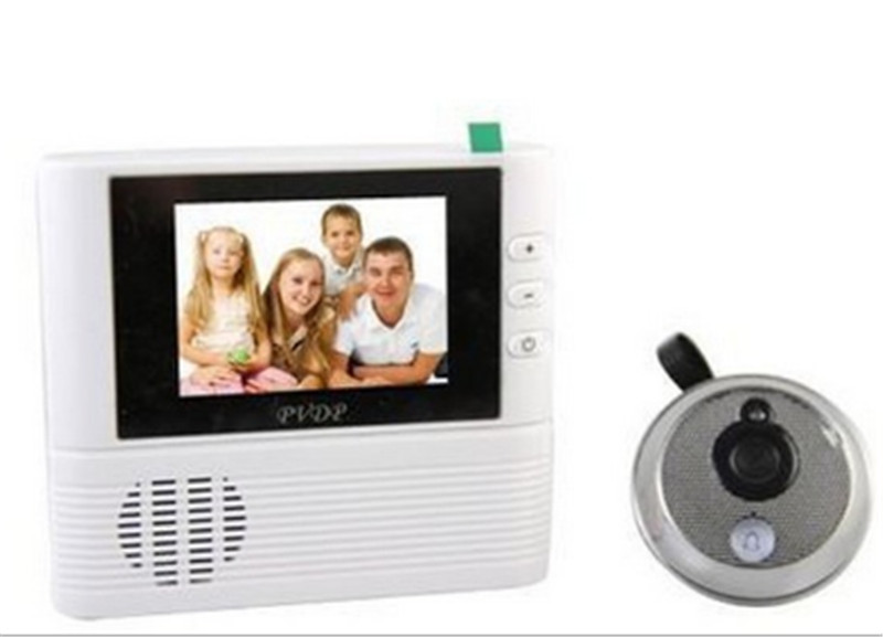 2.8 Inch TFT IR Night Vision Video Doorbell Peephole Viewer <br>